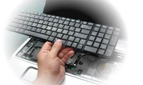 Remont i zamena klaviatury noutbuka