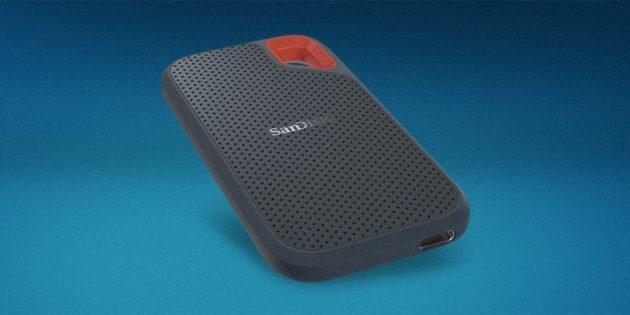 8. SanDisk Extreme Portable SSD