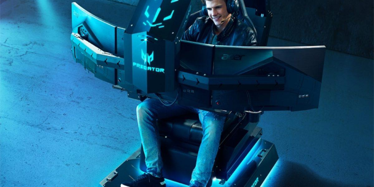 Acer представила Predator Thronos Air — для самых увлеченных геймеров