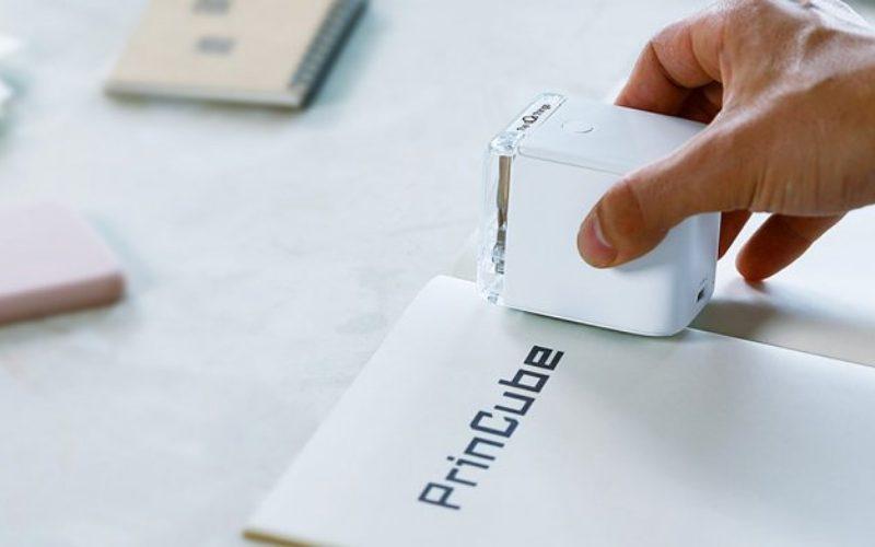 Самый маленький в мире цветной принтер PrinCube